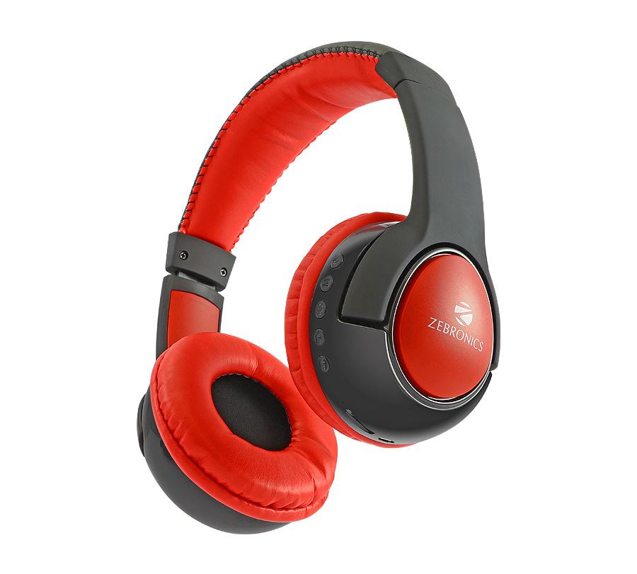 01ec99bb54c Zebronics Wireless Bluetooth BT Headphones – Tarang – Shop4Deal