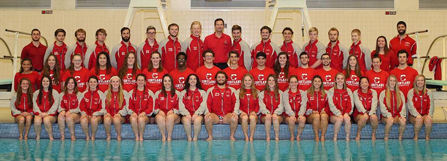 SUNY Cortland Athletics 2016 17 Mens Swimming And