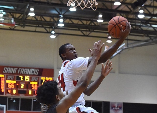 A torn ACL shorten Isaiah Blackmon season in 2015-16. Will he be the man for SFU in 2016-17? (Photo: sfuathletics.com)