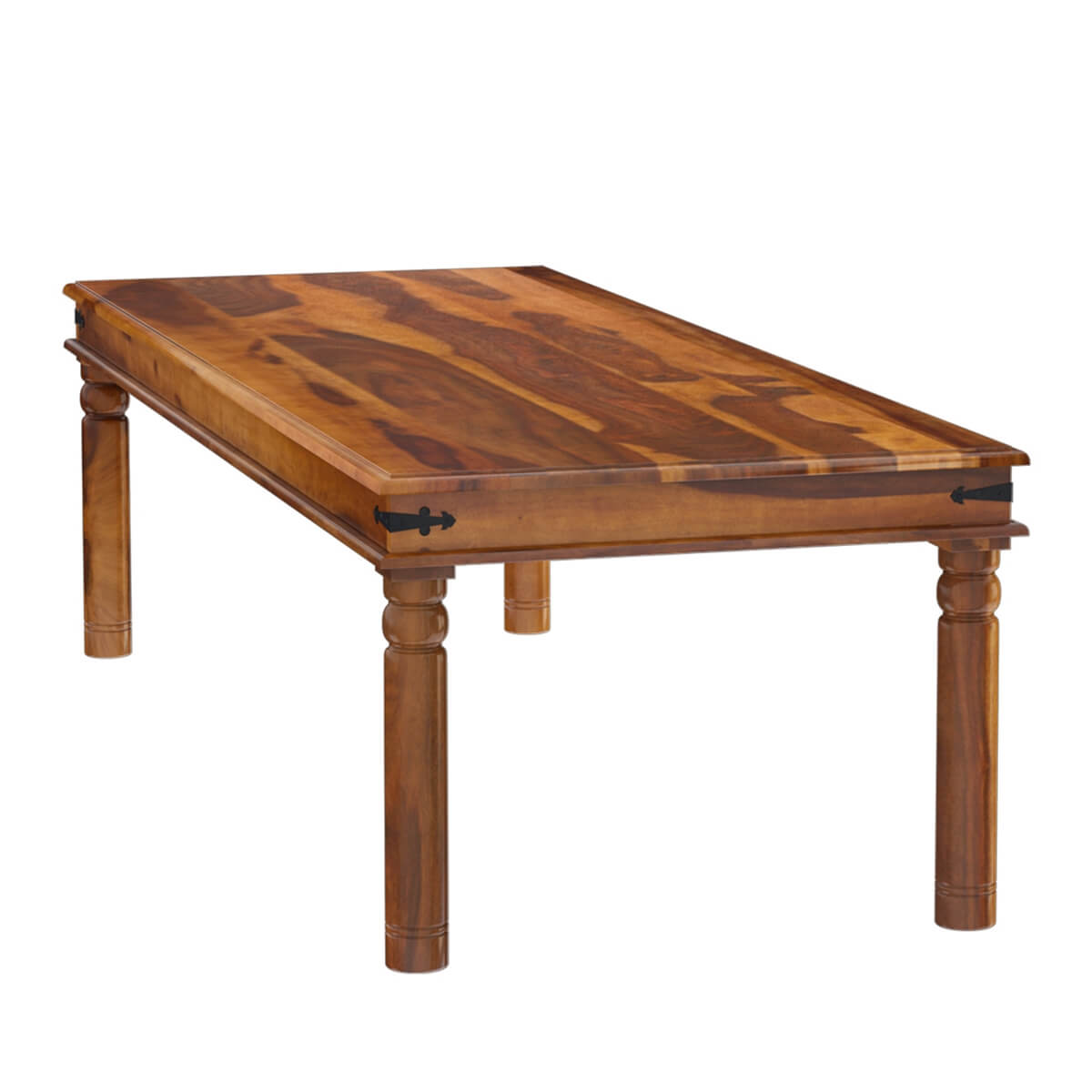 san francisco large rustic solid wood dining table on solid wood dining table id=58387