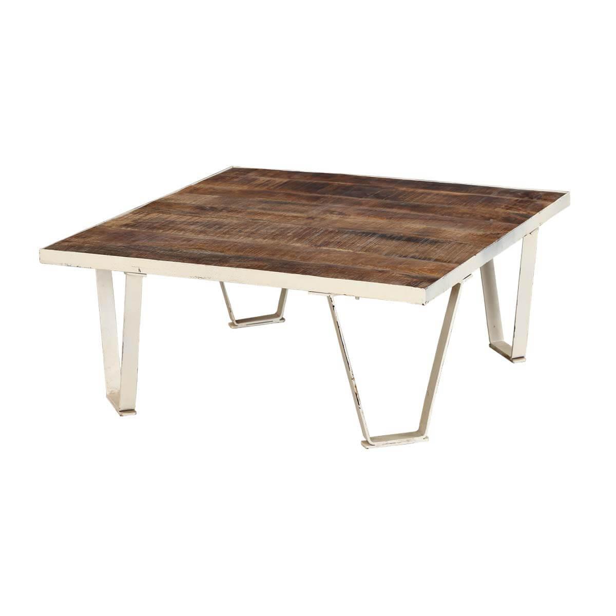 Ystad 31 Mid Century Modern Iron And Wood Coffee Table