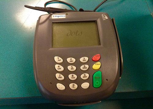 credit card swipe photo