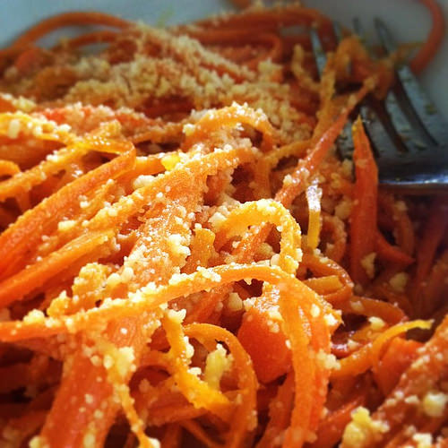 carrot noodles photo