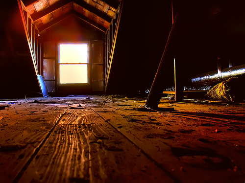 attic photo