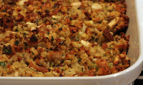 stuffing thanksgiving photo