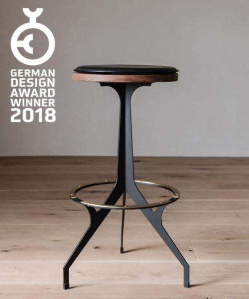 Skylar Morgan Furniture   Design Our Heron Stool is a winner of the German Design Awards 2018 in the  furniture category  The awards honors innovative products and projects