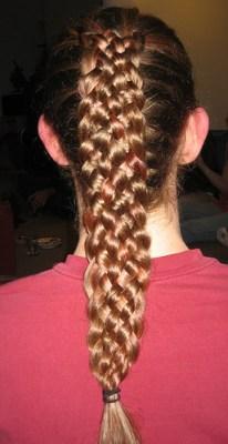 Women's Hairstyles - 7 Strand Braid