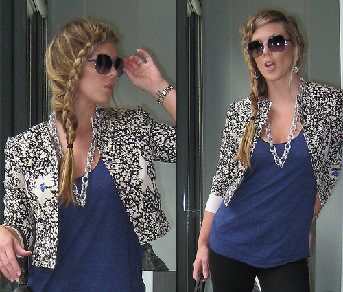 Women's Hairstyles - French Braid