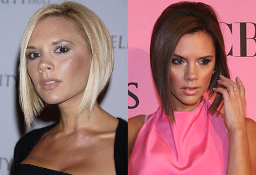 Women's Hairstyles - Inverted Bob - Front View - Victoria Beckham