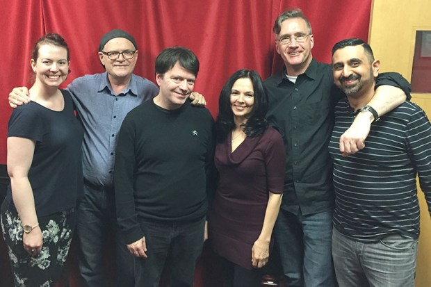 Vanessa, Bruce, Sean, Lindsey, Phil, and Neel