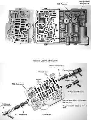 Sonnax AW 5550  AF2333: Diagnosis and Valve Body