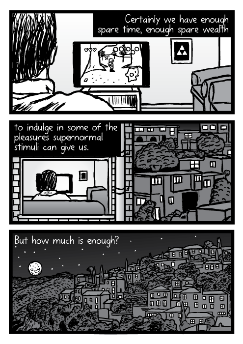 Supernormal stimuli comic - part 14