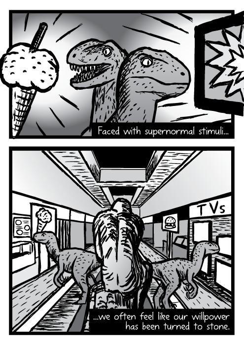 Supernormal stimuli comic - part 16