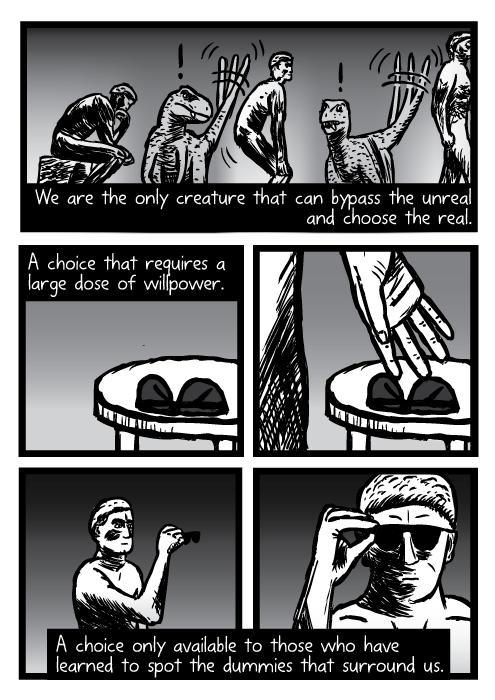 Supernormal stimuli comic - part 18