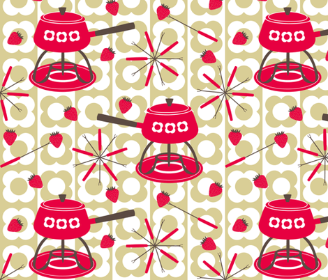 Do You Fondue? Retro Fabric, Top Ten Cool Retro Fabrics