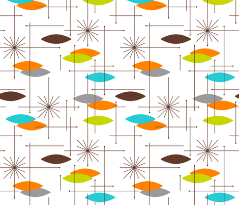 Orbs #7: Atomic Retro Fabric, Top Ten Cool Retro Fabrics