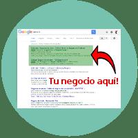 Tu negocio aparecerá en Google!