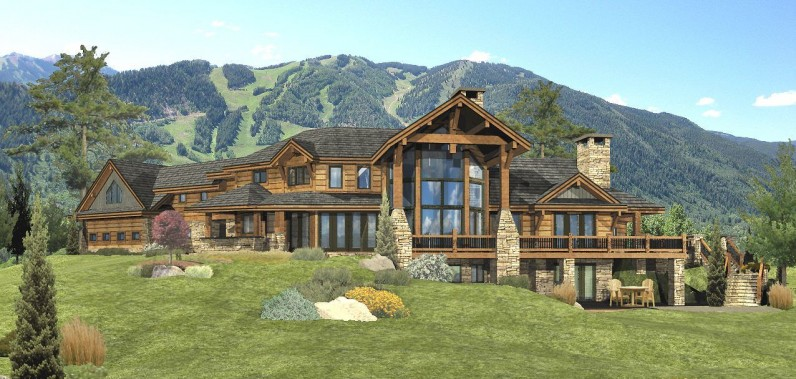 Redwood Falls Log Home Floor Plan By Wisconsin Log Homes