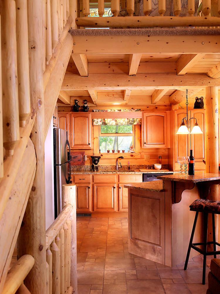 Kodiak Log Home Floor Plan By Katahdin Cedar Log Homes