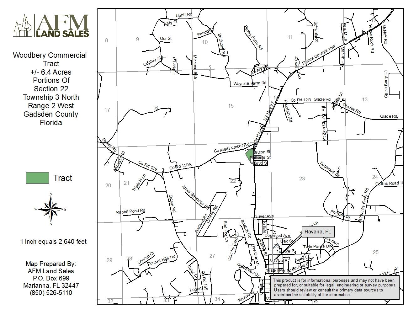 6 Acres In Gadsden County Florida