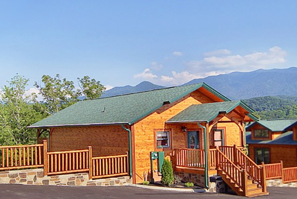 Gatlinburg Cabin - Rainbow's End - 2 Bedroom - Sleeps 8 ...