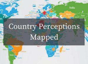 El mapa de las percepciones mundiales