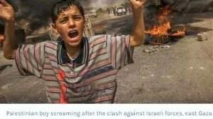 Hizo creer que estuvo en palestina