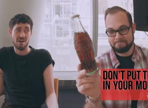 ¿Tomarías una Coca Cola de 1956?