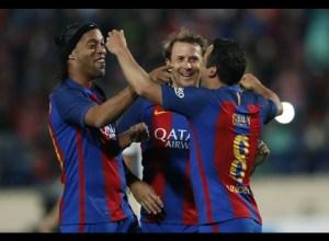 La magia de Ronaldinho se mantiene intacta 🎩