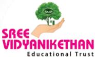 Sree Vidyanikethan Educational Institutions