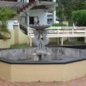 Fountain by the tourism office