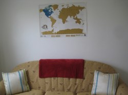 Couch and Map