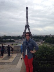 me and eiffle tower