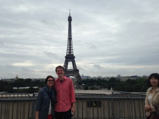 Us and Eiffle tower