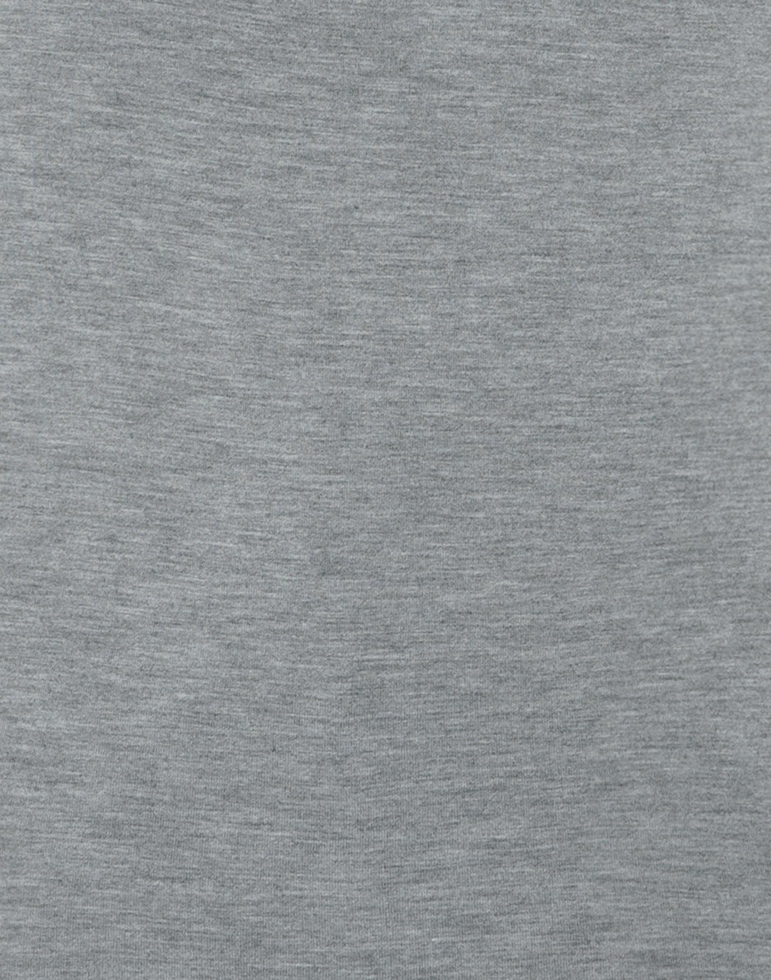 Grey Crew Neck Long Sleeved Stretch Viscose Top