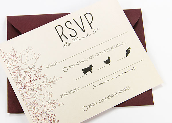 A2 Standard Size Rsvp Card 4x5 Slightly Larger For Lots Of Info