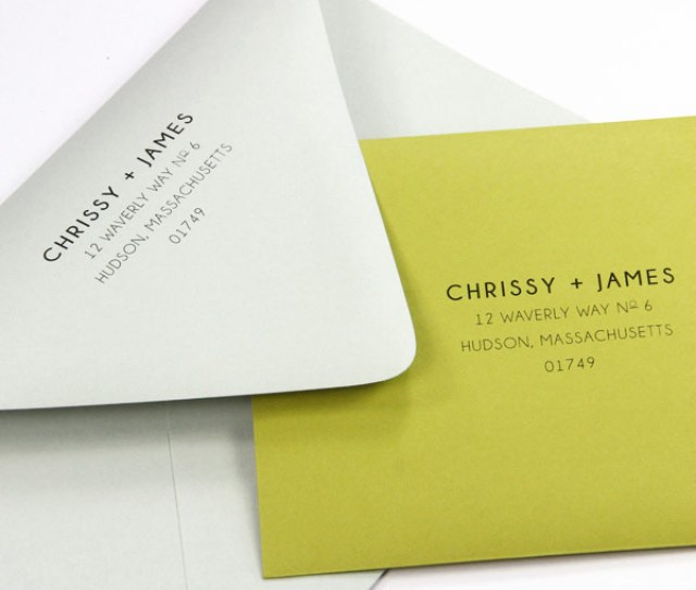 Euro Flap Envelopes Printed At Home Using Print Templates And Instructions