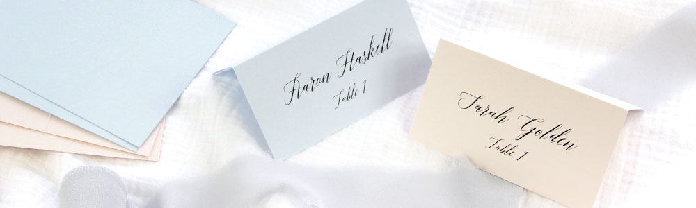 How To Print Place Cards