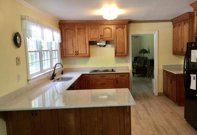 Granite Countertops & Kitchen Cabinets | Midlothian VA ... on Maple Cabinets With White Granite Countertops  id=96556