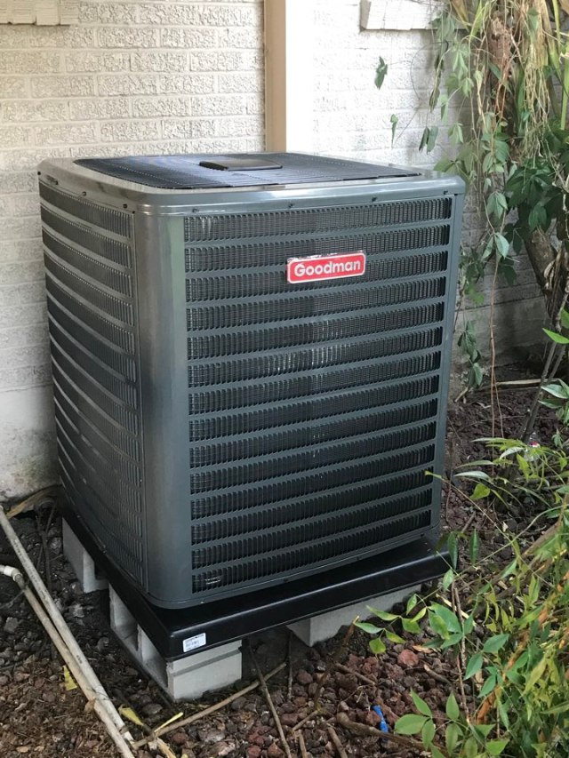 Metairie, LA - New AC installation in Metairie 18 seer