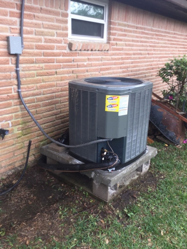 Dickinson, TX - Ac Tune up on Trane unit in  Dickinson Tx