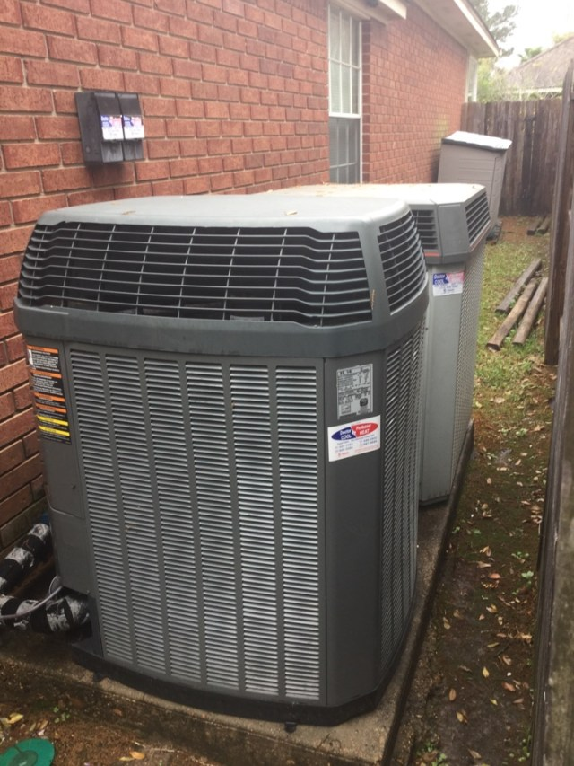 Katy, TX - Performed routine maintenance on two full Trane systems
