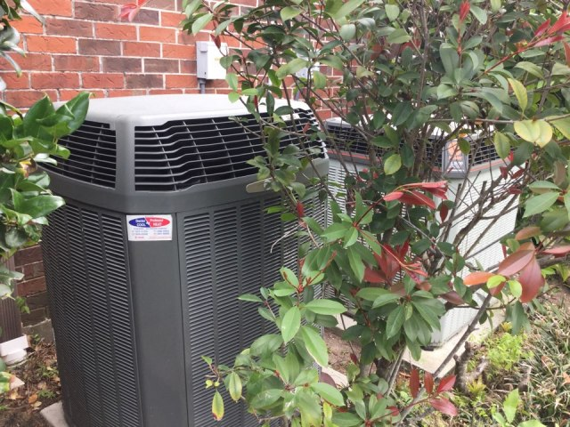 Missouri City, TX - Servicing trane condenser & gas furnace also replaced blower motor variable speed