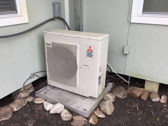 Hitchcock, TX - No cool on a Mitsubishi mini split system with three inside heads