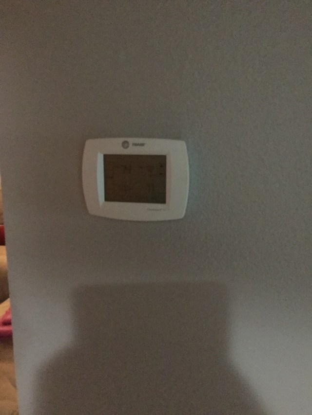 Hitchcock, TX - Blank thermostat call