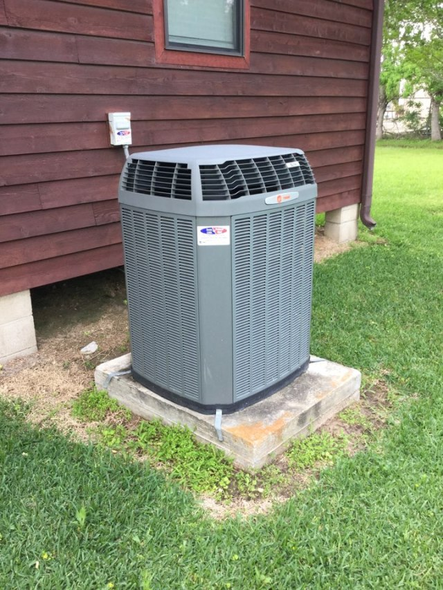 Santa Fe, TX - Performed routine maintenance on a full Trane system
