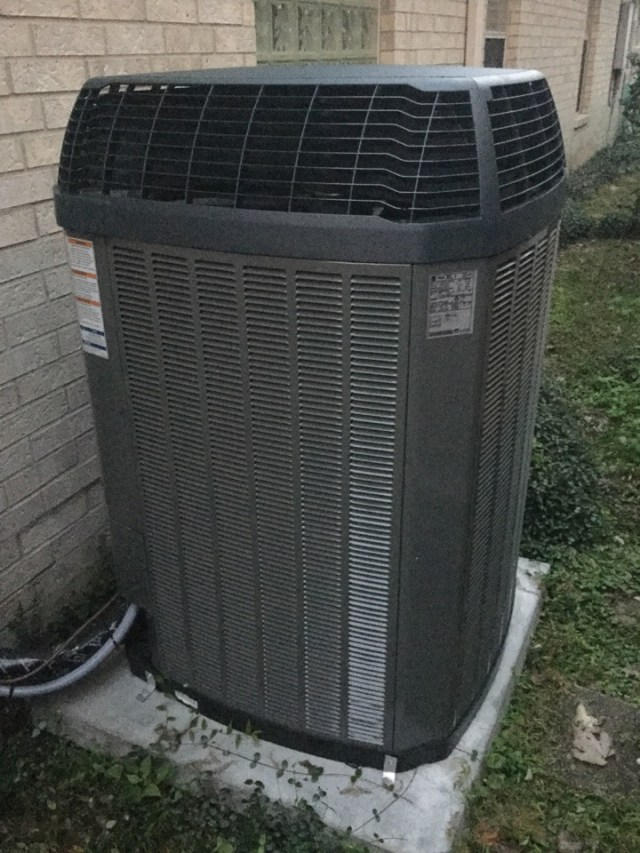 Bellaire, TX - Completed routine maintenance on a new full Trane system installed by Doctor Cool and Professor Heat
