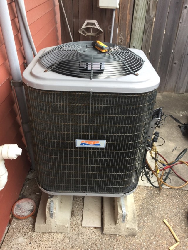 Texas City, TX - Ac unit not cooling in Texas city everything fixed up and running great