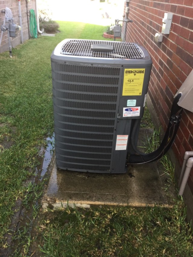 Deer Park, TX - Ac tune up on goodman unit and everything cleaned and running good at this time