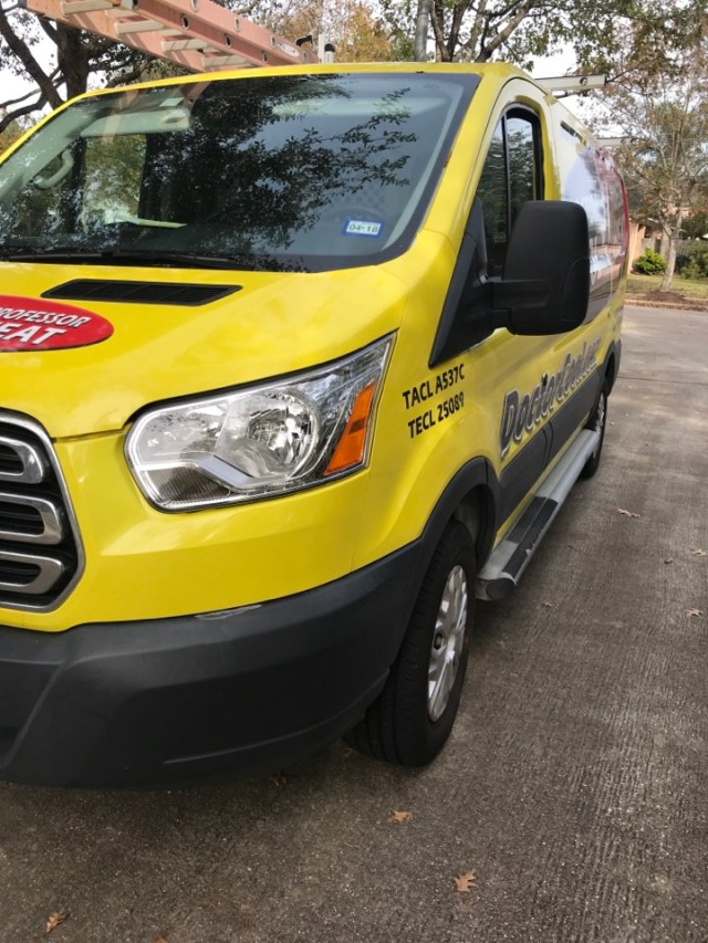 Houston, TX - Performed winter maintenance on three residential HVAC systems